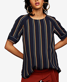 Daniel Rainn Maternity Striped Top