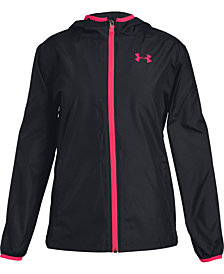 Under Armour Sack Pack Full-Zip Jacket, Big Girls