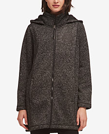 DKNY Hooded Faux-Fur-Lined Jacket