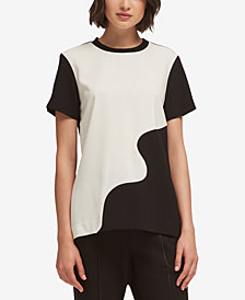 DKNY Colorblocked Top, Created for Macy's