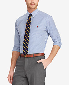 Polo Ralph Lauren Men's Classic Fit Cotton Striped Shirt