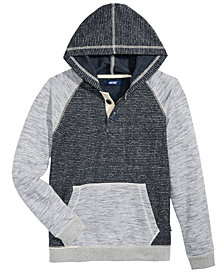 Univibe Big Boys Dixon Colorblocked Henley Hoodie