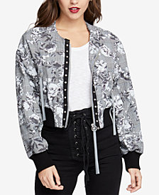 RACHEL Rachel Roy Cropped Bomber Jacket, Created for Macy's