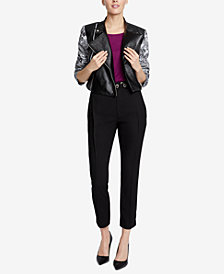 RACHEL Rachel Roy Charlie Moto Jacket, Created for Macy's