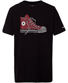 Converse Big Boys Chuck Taylor Graphic Cotton T-Shirt