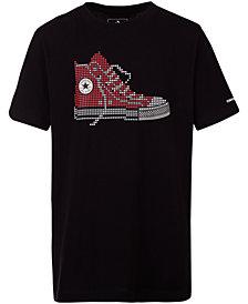 Converse Big Boys Chuck Taylor Graphic Cotton T-Shirt
