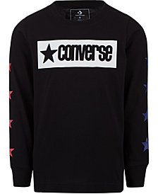 Converse Big Boys Vintage-Style Logo Graphic Cotton T-Shirt