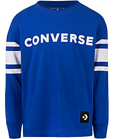 Converse Big Boys Football Jersey Cotton T-Shirt
