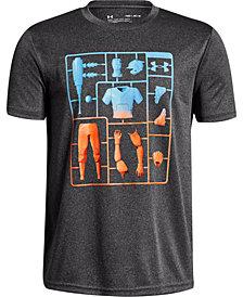 Under Armour Big Boys Baseball Armour-Print T-Shirt