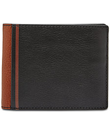 Fossil Men's Jerome Flip-ID Leather Wallet