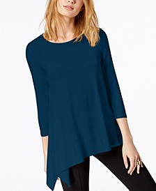 Asymmetrical-Hem Top, Created for Macy's