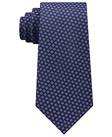 Michael Kors Men's Tile Cubes Silk Tie