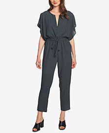 1.STATE Printed Jumpsuit
