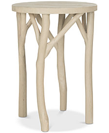 Harper Round End Table, Quick Ship