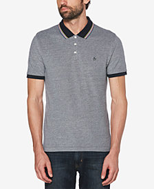 Original Penguin Men's Slim Fit Tipped Birdseye Polo