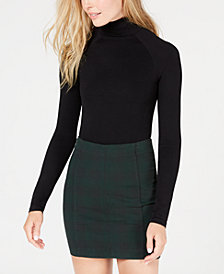 Free People Like I Do Cutout Turtleneck