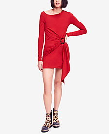 Free People Frankie Draped Asymmetrical Dress