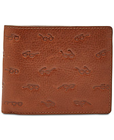 Fossil Men's Simon Embossed Leather Wallet
