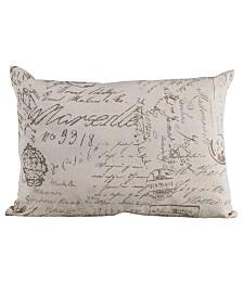 Printed Linen Pillow