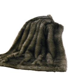 Chinchilla Faux Fur Throw