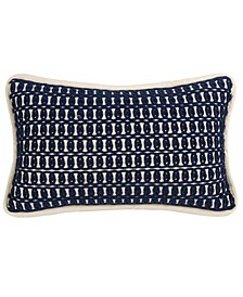 "Monterrey Rope 10""x17"" Embroidery Pillow"