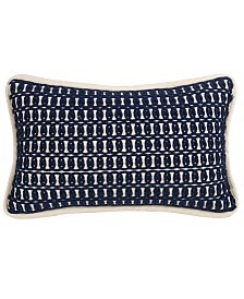 """Monterrey Rope 10""""x17"""" Embroidery Pillow"""