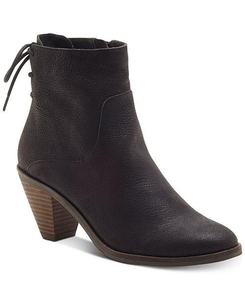 59d7c6b4d2e Lucky Brand Jalie Booties   Reviews - Boots - Shoes - Macy s