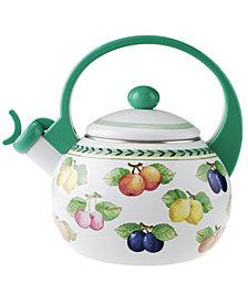 Villeroy & Boch Serveware, French Garden Enamel Tea Kettle