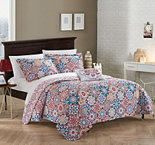 Chic Home Aspen 4 Piece King Quilt Set