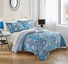 Aspen 4 Piece Queen Quilt Set