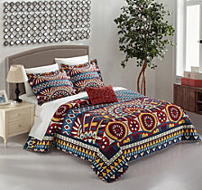 Chic Home Le Haver 4 Piece King Quilt Set