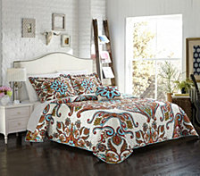 Chic Home Montreuil 4 Piece Queen Quilt Set