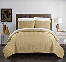 Chic Home Weaverland 3 Piece King Quilt Set