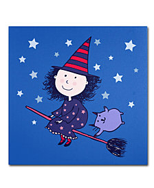 Carla Martell 'Lovely Little Witch' Canvas Art Print Collection