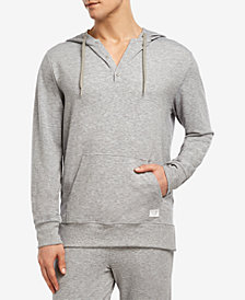 2(x)ist Men's Hooded Henley Sweatshirt