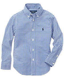 Polo Ralph Lauren Little Boys Cotton Poplin Shirt