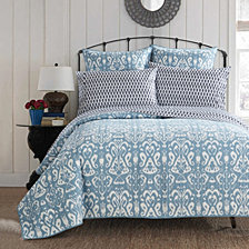 LUX-BED Magical Medallion Twin X-Long Quilt