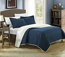 Chic Home Teresa 3 Piece Quilt Sets