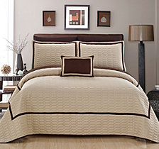 Chic Home Mesa 6 Piece Twin Quilt Set