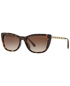 Sunglasses, HC8257U 55 L1065, Created for Macy's