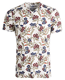 American Rag Men's Blossom Floral T-Shirt, Created for Macy's