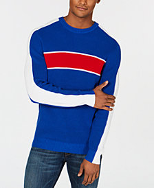 Club Room Men's Colorblocked Ski Sweater, Created for Macy's