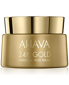 24K Gold Mineral Mud Mask, 1.7-oz.