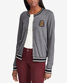 Lauren Ralph Lauren Bullion-Patch Cardigan