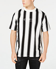 GUESS Originals Men's Walden Stripe Logo T-Shirt