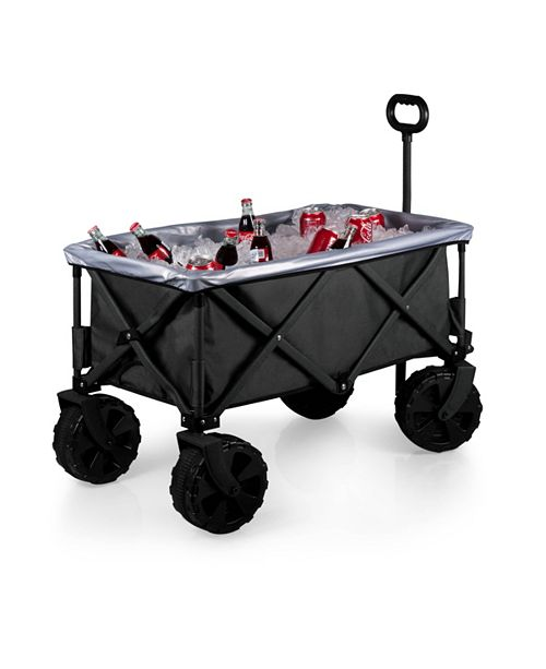 Picnic Time Oniva™ by Black Adventure Wagon Elite All-Terrain Portable Utility Wagon