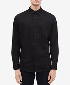 Calvin Klein Men's Slim-Fit French Placket Shirt
