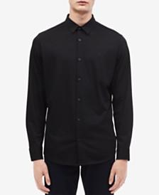 Calvin Klein Men's Slim-Fit French Placket Shirt