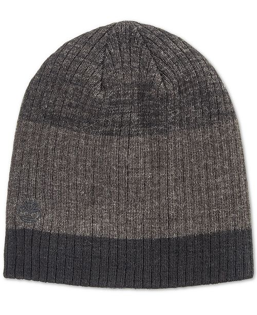 00581d8645532f Timberland Men's Heat Retention Marled Slouchy Beanie, Created for Macy's