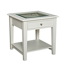 Panorama End Table, Quick Ship
